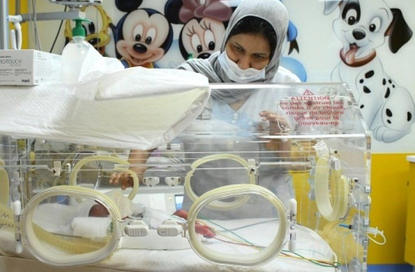 Malian woman gives birth to nine babies at once