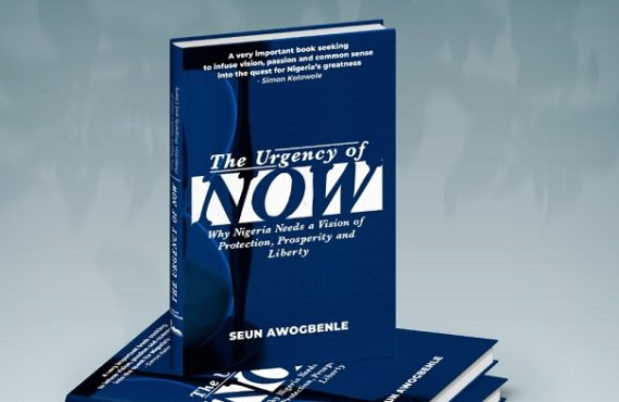 Seun Awogbenle launches book on new vision for Nigeria amid secession threats