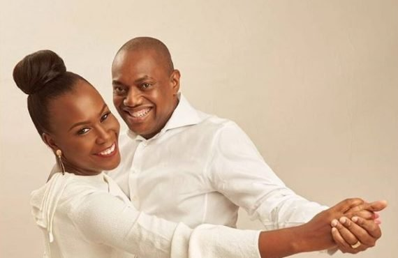 PHOTOS: Fela Durotoye marks 20th wedding anniversary on 50th birthday