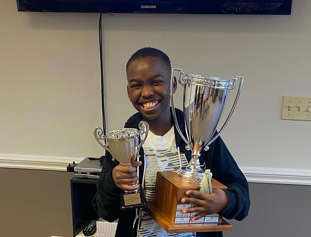 Nigerian kid who won US championship in 2019 named national chess master