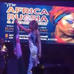 'I've been getting threats' -- model who took bloodstained Nigerian flag to Russian pageant breaks silence