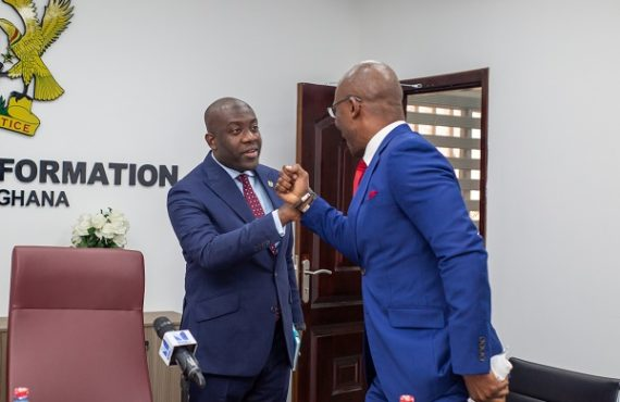 Kayode Akintemi, Ignite media MD, meets Ghana's minister to 'promote…