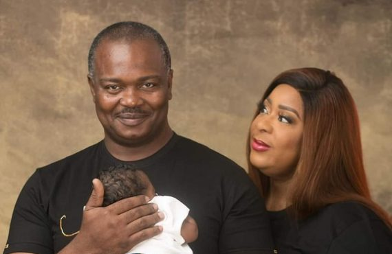 Nigerian lady who married at 48 welcomes first child days to 50th birthday