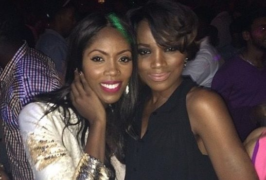Seyi Shay, Tiwa Savage fight dirty at Lagos salon