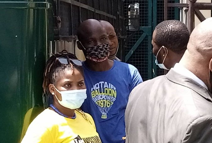 PHOTOS: Baba Ijesha arrives court as 'sexual assault' trial begins