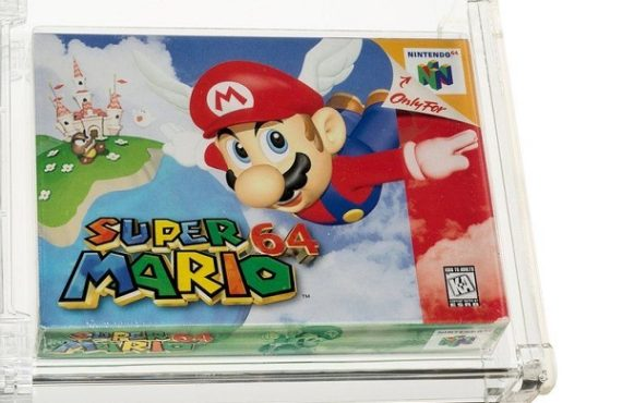 Super Mario 64 sells for record-breaking $1.56m