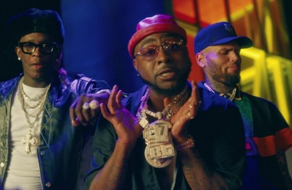 WATCH: Davido taps Chris Brown, Young Thug for 'Shopping Spree' visuals