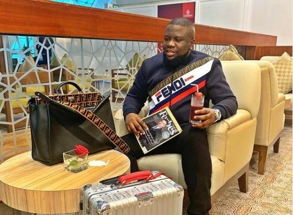 Some items on Hushpuppi's IG loaned to him by brands, says associate