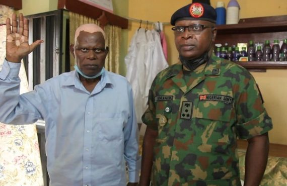 NYSC DG visits man who composed its anthem in 1984