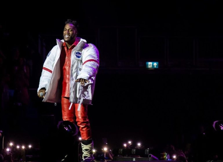 WATCH: Rema, Omah Lay, Ruger perform at Burna Boy's 02 Arena concert