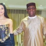 PHOTOS: Fani-Kayode attends beauty pageant with 'lover'