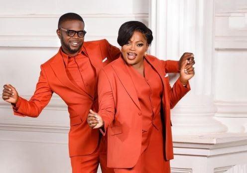 Funke Akindele hails husband on 5th wedding anniversary