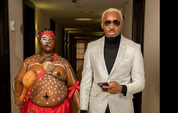 EXTRA: Pretty Mike attends Ubi Franklin baby mama's wedding with 'herbalist'