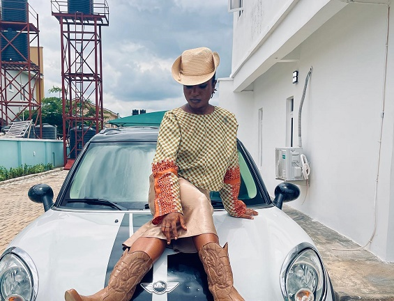 Paul Enenche's daughter trends over cowgirl-inspired dress
