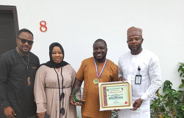Youth parliament honours entrepreneur for 'contributions to Nigeria'