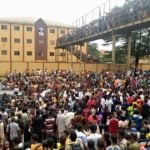 Gunshots as Abia Poly students protest rape of colleague 'by policeman'