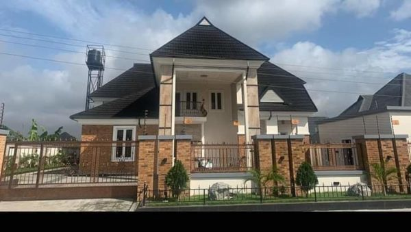 Ime Bishop also known as Okon Lagos builds new mansion