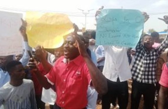 'We've spent 3 years for one semester' — Plateau poly students protest exam postponement