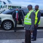 Kumuyi trends for arriving Abuja crusade venue in limousine