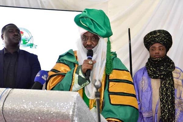 PHOTOS: Sanusi inaugurated as Kaduna varsity chancellor