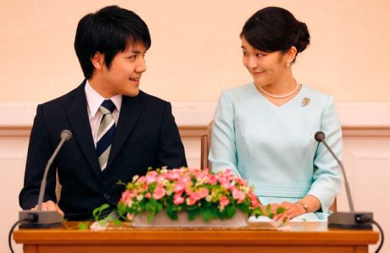 Japan's Princess Mako gives up royal status to marry a…