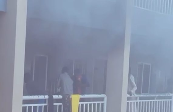 Properties destroyed as fire guts UNIMAID female hostel