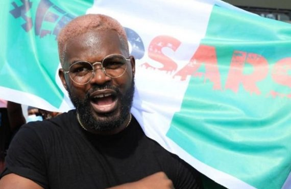 #EndSARSMemorial: We'll ensure swift release of arrested protesters, says Falz