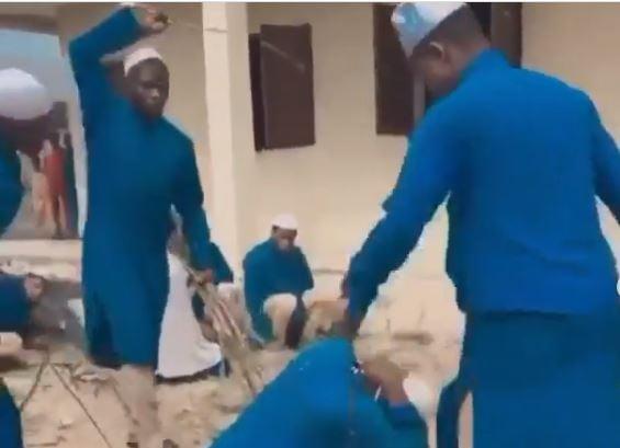 VIDEO: Outrage over brutal flogging of Kwara madrasa students