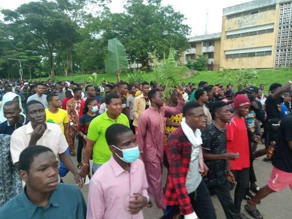 OAU shut indefinitely amid protest over student's death